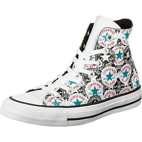 CONVERSE Chuck Taylor All Star Patch High Sneaker Damen weiß