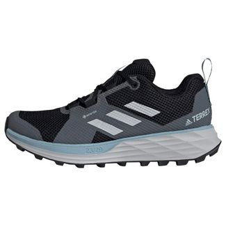adidas TERREX Two GORE-TEX Trailrunning-Schuh Laufschuhe Damen Core Black / Grey Three / Ash Grey