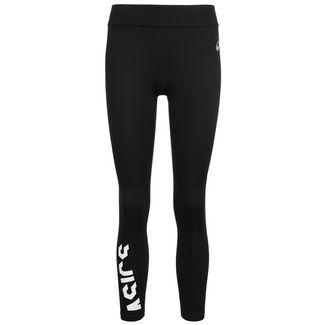 ASICS Essentials 7/8 Lauftights Damen schwarz / weiß