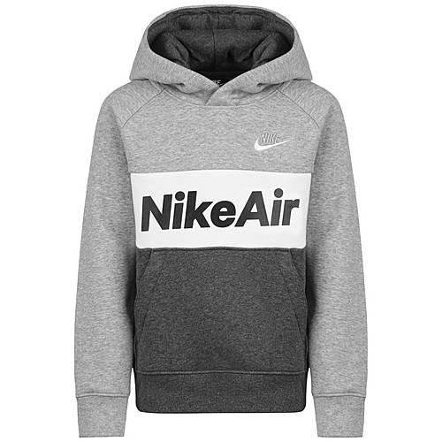 Nike Air Hoodie Jungen grau weiß im Online Shop von