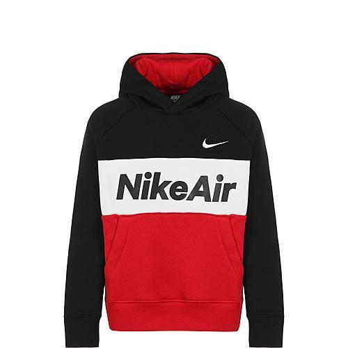 Nike Air Hoodie Jungen schwarz rot im Online Shop von