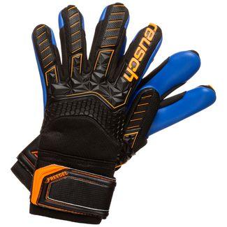 Reusch Attrakt Freegel S1 Finger Support Torwarthandschuhe Kinder schwarz / orange