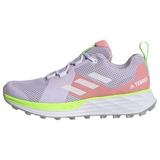 adidas TERREX Two Trailrunning-Schuh Laufschuhe Damen Purple Tint / Cloud White / Glory Pink