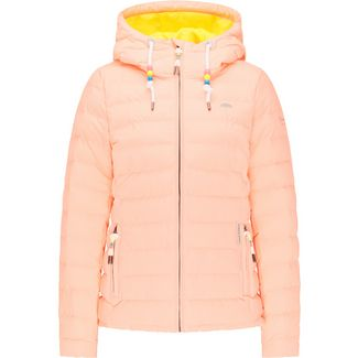 Schmuddelwedda Steppjacke Damen neon orange