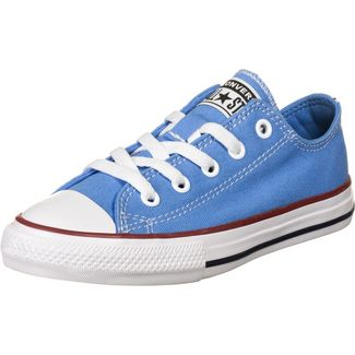 CONVERSE Chuck Taylor All Star Seasonal OX Sneaker Kinder blau / rot
