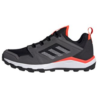adidas TERREX Agravic TR UB Trailrunning-Schuh Laufschuhe Herren Core Black / Grey Three / Solar Red