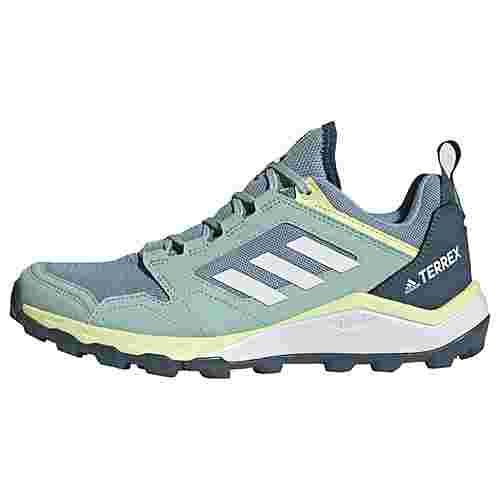 adidas TERREX Agravic TR Trailrunning-Schuh Trailrunning Schuhe Damen Ash Grey / Cloud White / Yellow Tint