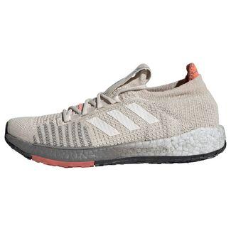 adidas Pulseboost HD Laufschuhe Damen Alumina / Chalk White / Signal Coral