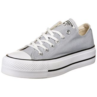 CONVERSE Chuck Taylor All Star Lift OX Sneaker Damen hellgrau