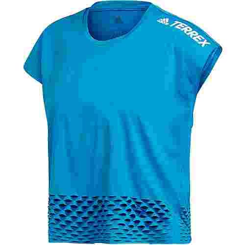 adidas Agravic Allaround Croptop Damen sharp blue