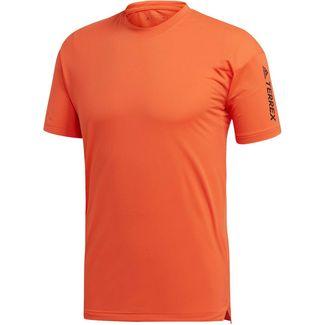 adidas Agravic Allaround Funktionsshirt Herren true orange