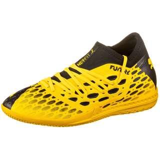 PUMA FUTURE 5.3 NETFIT IT Fußballschuhe ultra yellow-puma black
