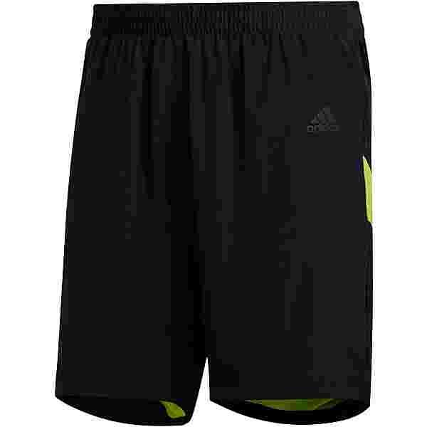 adidas Own the Run Funktionsshorts Herren black