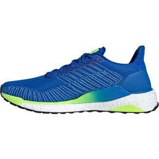 adidas Solarboost 19 Laufschuhe Herren glory blue-ftwr white-signal green