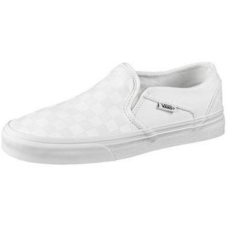Vans Asher Sneaker Damen white-white