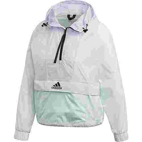 adidas Cropped Windbreaker Damen dash green
