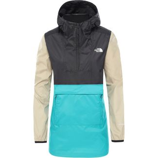 The North Face Fanorak 2.0 Wanderjacke Damen jaiden green/tnf black/twill beige