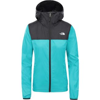 The North Face Cyclone Wanderjacke Damen jaiden green/tnf black
