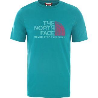 The North Face Rust T-Shirt Herren fanfare green