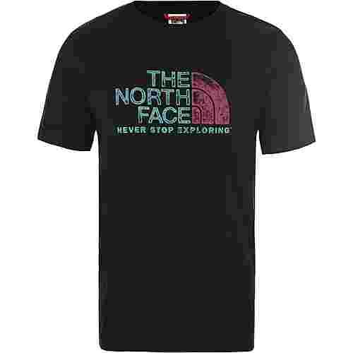 The North Face Rust T-Shirt Herren tnf black