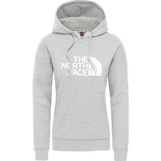 The North Face Drew Peak Hoodie Damen tnf light grey heather/tnf white