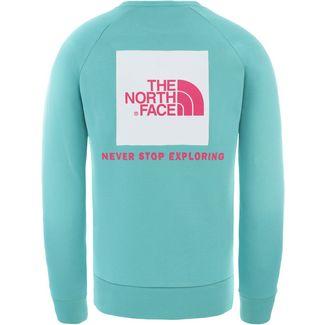 The North Face Raglan Redbox Sweatshirt Herren lagoon