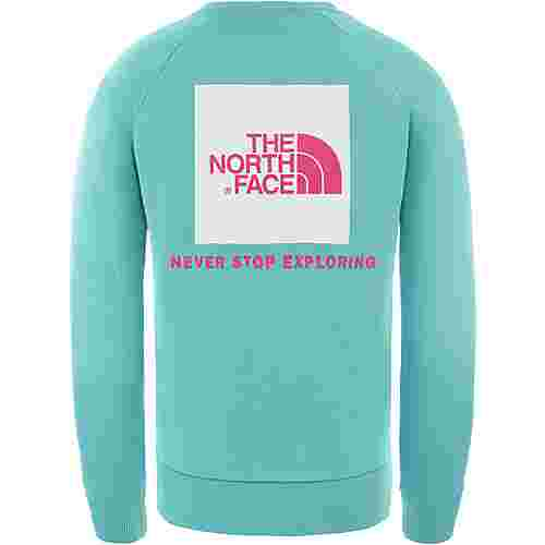 The North Face Raglan Redbox Sweatshirt Herren lagoon