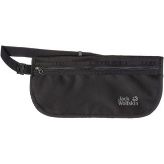 Jack Wolfskin DOCUMENT BELT Geldgürtel black