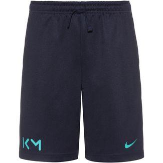 Nike Kylian Mbappe Fußballshorts Kinder blue