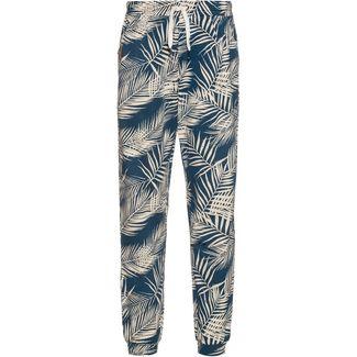 iriedaily La Palma Printhose Damen thunder blue