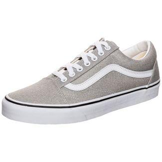 Vans Old Skool Sneaker Herren grau / weiß