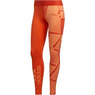 adidas Alphaskin Tights Damen amber tint
