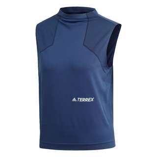 adidas TERREX Zupahike Shirt T-Shirt Damen Tech Indigo / Legend Ink