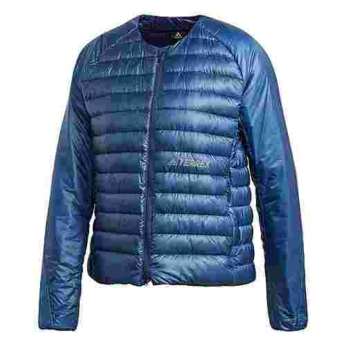 adidas TERREX Hike Daunen-Bomberjacke Outdoorjacke Damen Blau