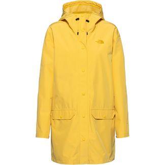 The North Face Woodmont Regenjacke Damen bamboo yellow