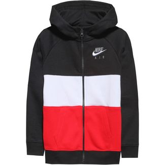 Nike Sweatjacke Kinder black-university red