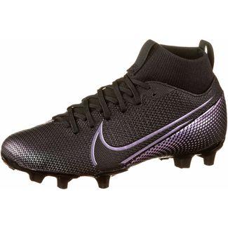 Nike JR MERCURIAL SUPERFLY 7 ACADEMY FG/MG Fußballschuhe Kinder black-black