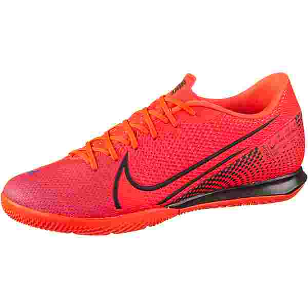 Nike MERCURIAL VAPOR 13 ACADEMY IC Fußballschuhe laser crimson-black-laser crimson