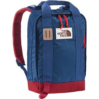 The North Face Rucksack Totepack Daypack BLUE WING TEAL-BAROLO RED