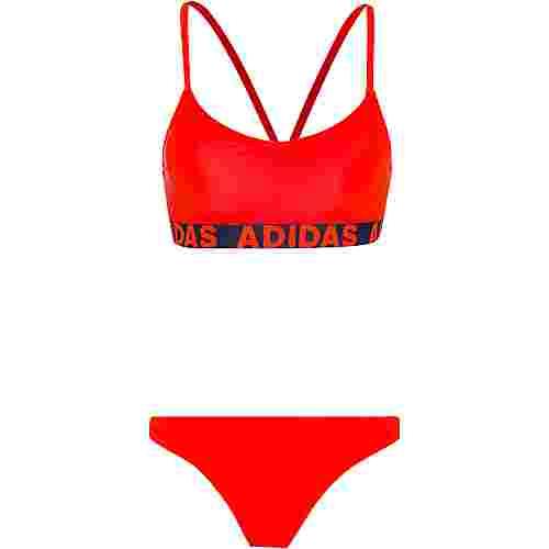 adidas Bikini Set Damen app solar red