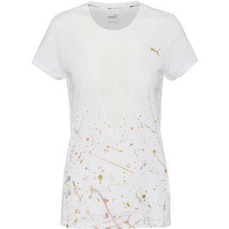 PUMA Metal Splash Funktionsshirt Damen puma white