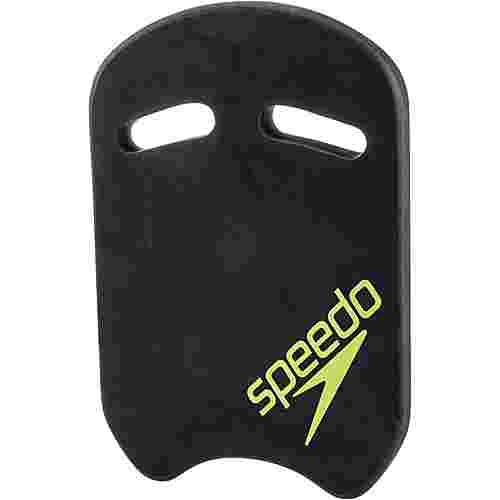 SPEEDO Kick Board Schwimmhilfe oxid grey/lime punch