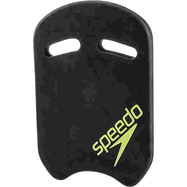SPEEDO Kick Board Schwimmhilfe oxid grey-lime punch