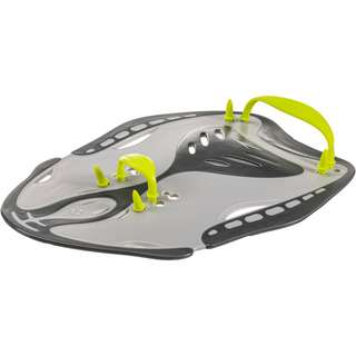 SPEEDO Power Paddle Schwimmpaddles oxid grey/lime punch/cool grey