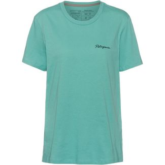 Patagonia Free Hand Fitz Roy T-Shirt Damen light beryl green