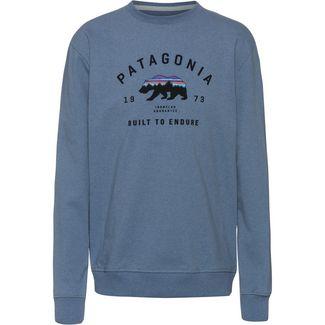 Patagonia Arched Fitz Roy Bear Sweatshirt Herren pigeon blue