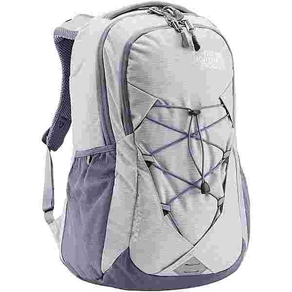 The North Face Rucksack Women's Jester Daypack Damen white metallic melange-mid grey