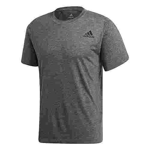 adidas FreeLift Sport Prime Heather T-Shirt T-Shirt Herren Black / Grey Four