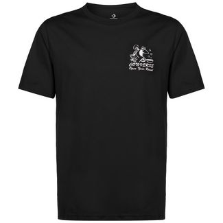 CONVERSE Fish Fry Shop T-Shirt Herren schwarz