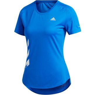adidas Run It Laufshirt Damen glory blue